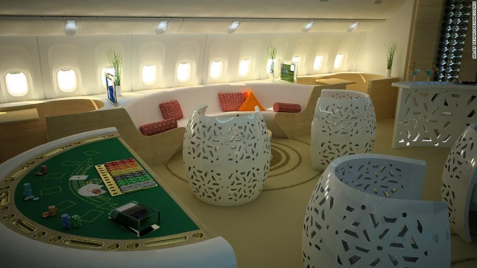 Gokken in het vliegtuig - CasinoMeesters.nl