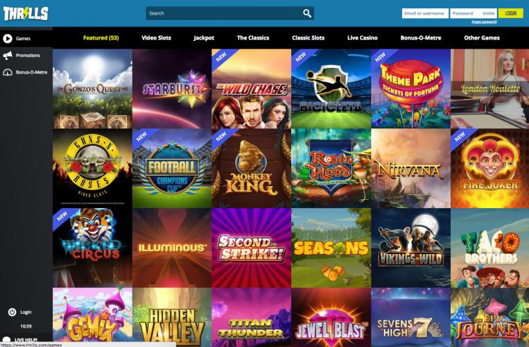 Thrills Casino afbeelding 1