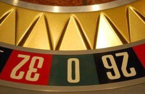 Roulette wiel met driehoek pockets
