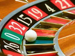 Roulette wiel met hoge pockets