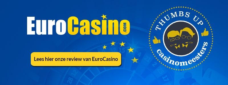 Lees hier onze review van EuroCasino