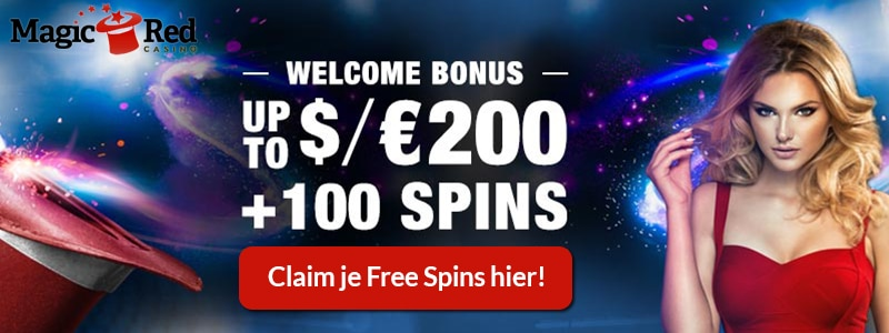 Claim je Free Spins voor MagicRed Casino!