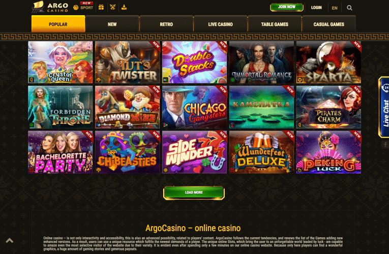 Argo Casino afbeelding 1